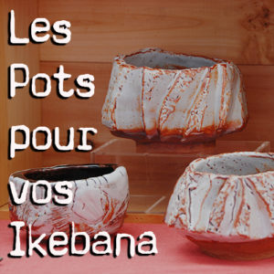 Les vases pour Ikebana
