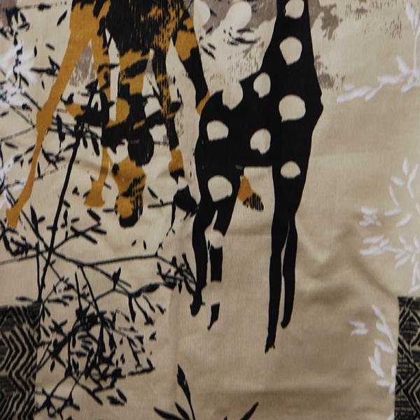 tablier en tissu épais à motifs