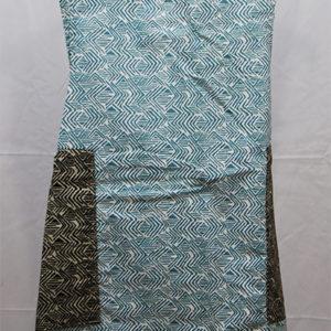tablier à dos croisé en tissu léger